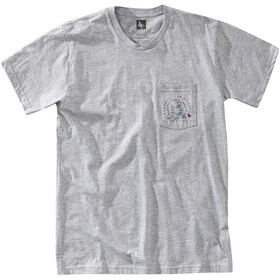 Hippy Tree Bearcam Camiseta Hombre, heather grey